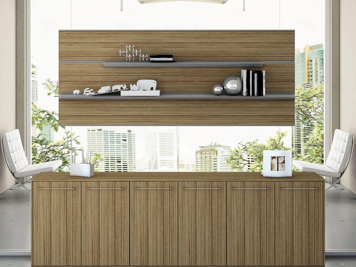 Mueble de oficina de MDF PITAGORA PLLT80 by Arcadia Componibili - Gruppo Penta