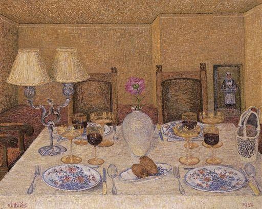 Gottardo Segantini (It, 1882-1974) - Tavola imbandita (Feierlich gedeckter Tisch) - 1952 - Oil on masonite; 66.5 x 82.5 cm #gedecktertisch Gottardo Segantini (It, 1882-1974) - Tavola imbandita (Feierlich gedeckter Tisch) - 1952 - Oil on masonite; 66.5 x 82.5 cm #gedecktertisch Gottardo Segantini (It, 1882-1974) - Tavola imbandita (Feierlich gedeckter Tisch) - 1952 - Oil on masonite; 66.5 x 82.5 cm #gedecktertisch Gottardo Segantini (It, 1882-1974) - Tavola imbandita (Feierlich gedeckter Tisch) - #gedecktertisch