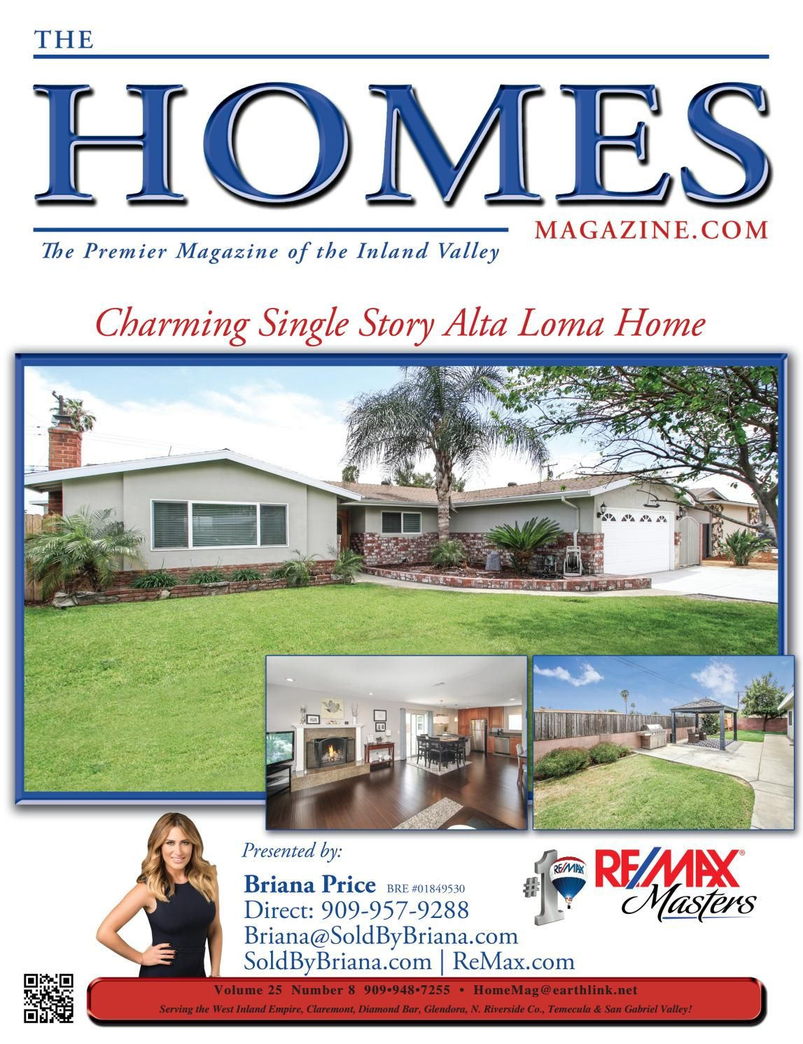 The Homes Magazine Vol 25 8 House Home Magazine Alta Loma Home