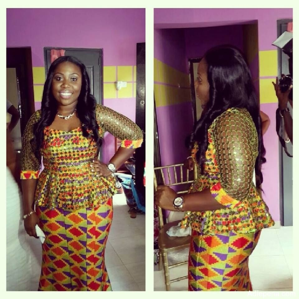 Kente Kaba And Slit Styles