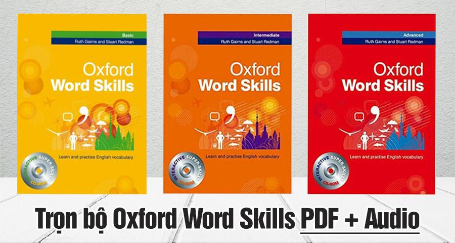 Tải Full Sach Oxford Word Skills Basic Intermediateadvanced Pdf Audio Oxford Từ Vựng Bai Tập