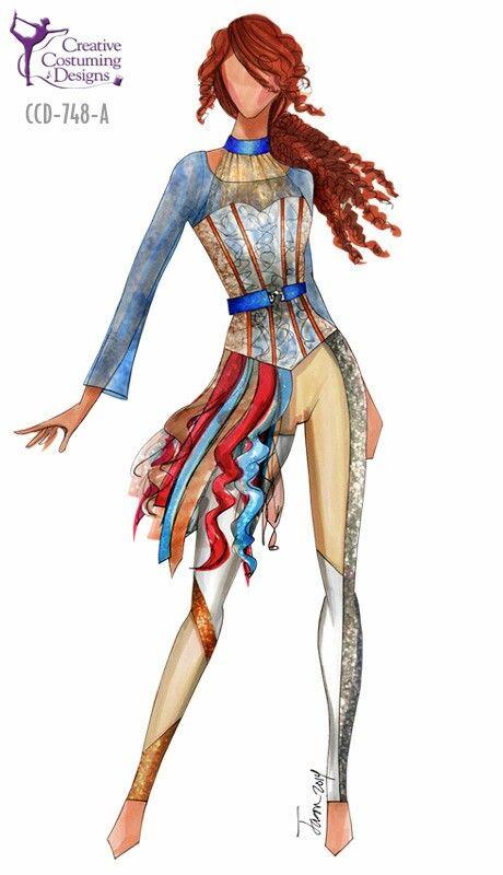 Also Cute Color Guard Costumes Creative Costuming Designs Colorguard Outfits