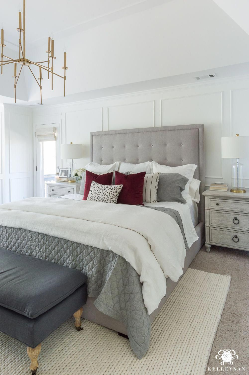 gray master bedroom decor with white walls graybedroom on discover ideas about master dream bedroom id=15242