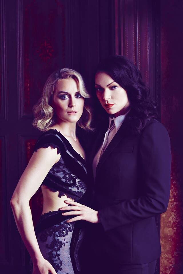 Orange Is The New Black, Taylor Schilling And Laura Prepon -1317