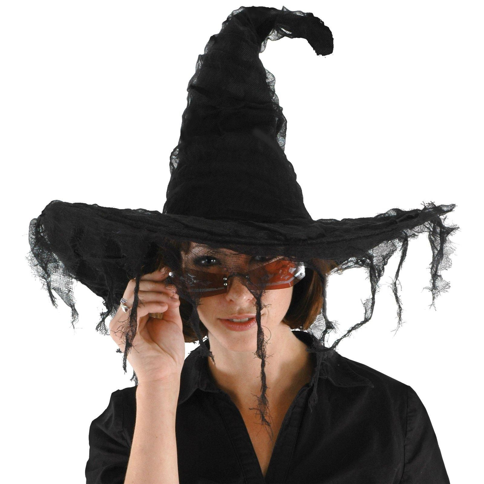 diy witch hat Grunge Adult Witch Hat Halloween costume