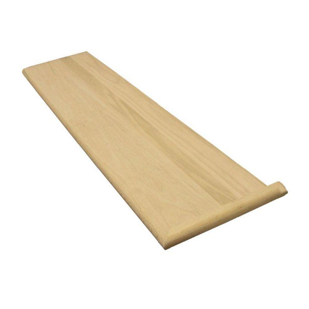 Best Stairtek 1 In X 11 5 In X 48 In Unfinished Red Oak 400 x 300