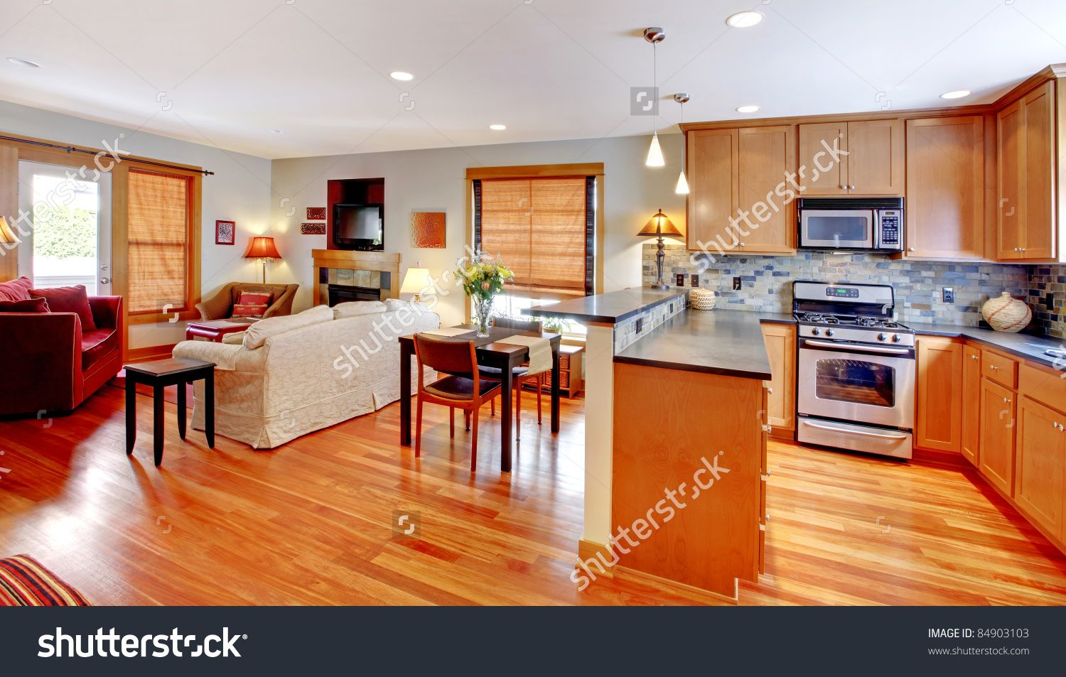 How To Divide An Open Plan Space 9 Ideas: Image Result For Open Floor Plan Home