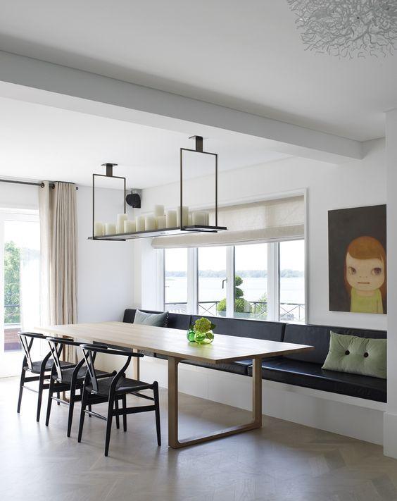 inspiratieboost 12x een bank bij de eettafel woonkamer