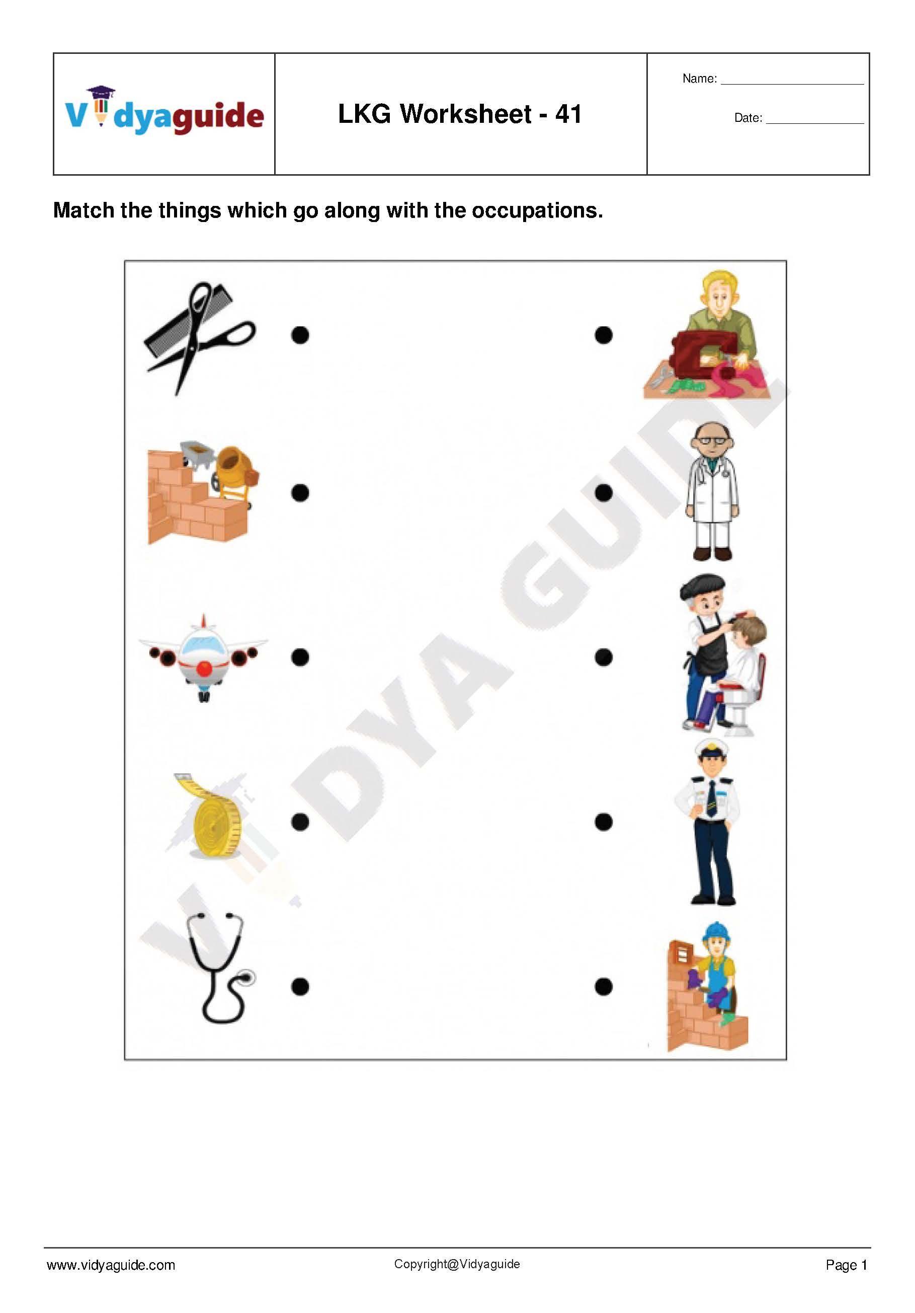 Lkg Worksheets Set 09