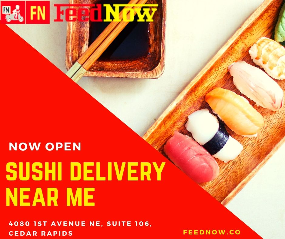 Sushi Delivery Near Me Feednow Food Sushi Delivery Food Delivery