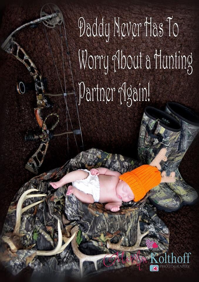 Baby Hunting Picture Ideas