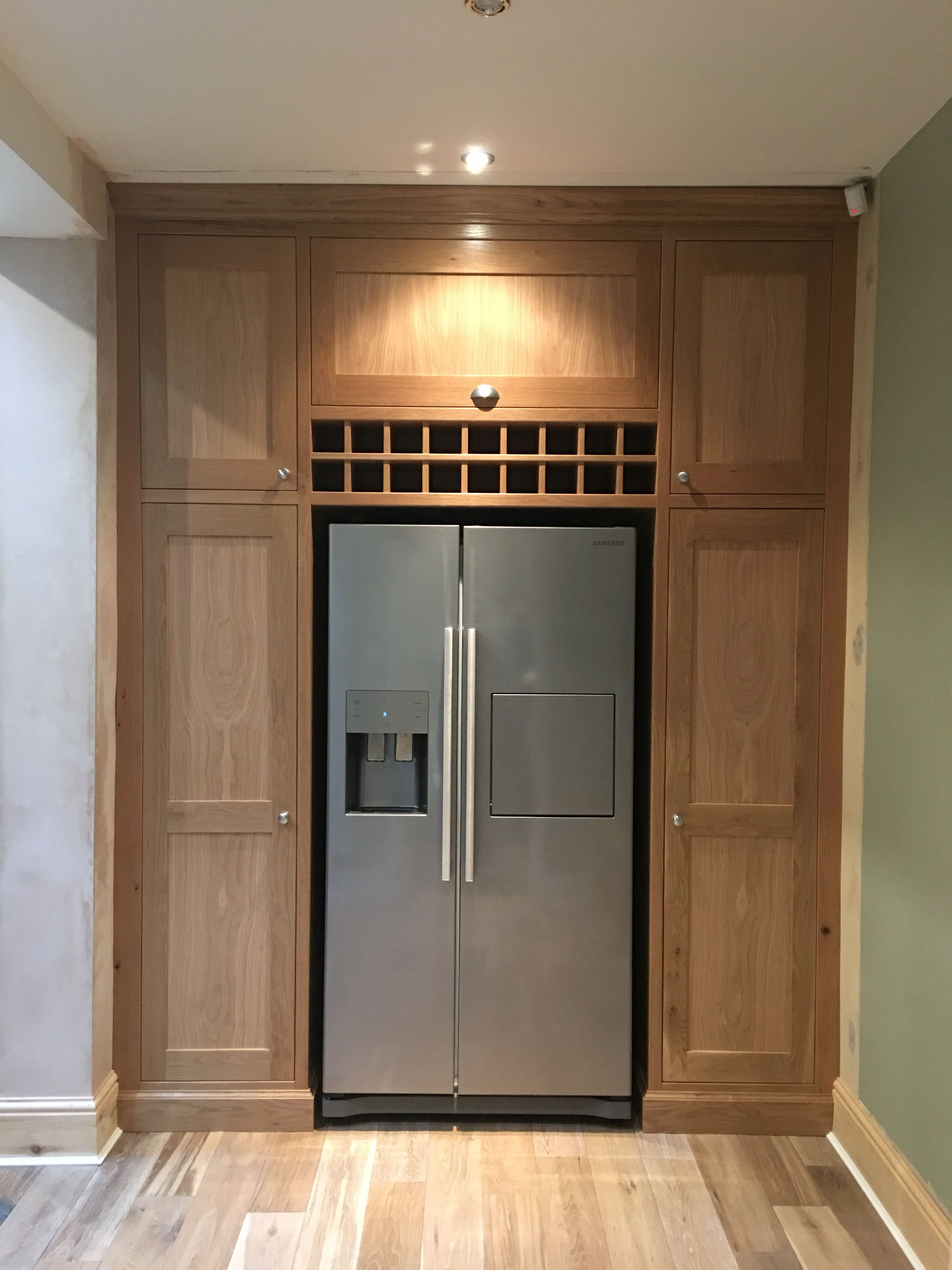 Bespoke oak cabinet for utility/kitchen, huge storage ...