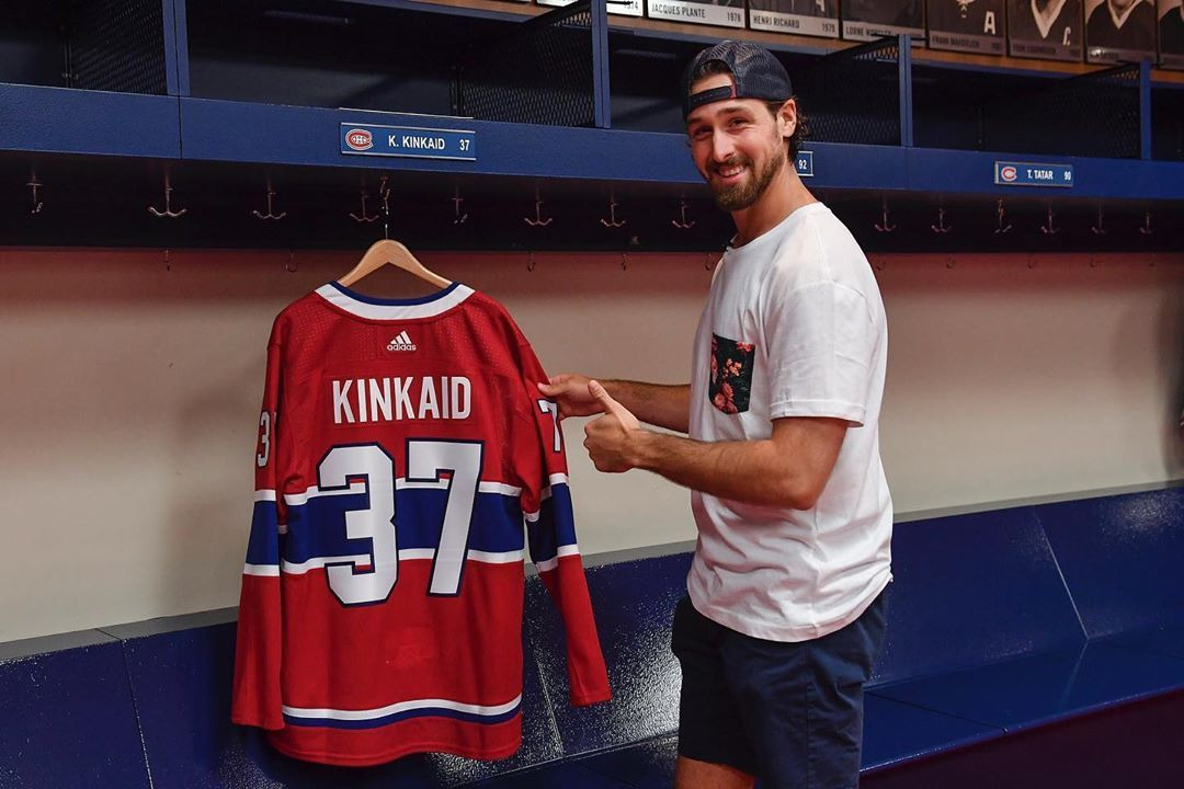 Montreal Canadiens Ma Première Journée Chez Les Canadiens