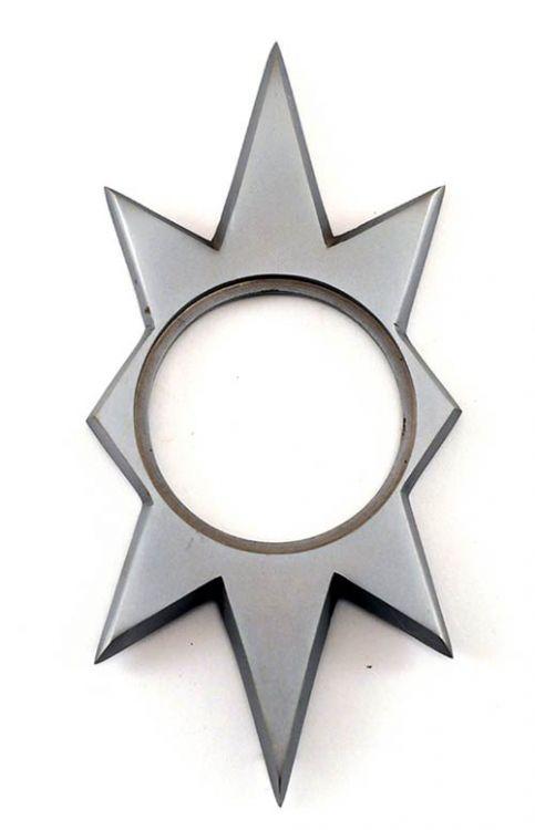 Midcentury modern front door escutcheon backplates from ...