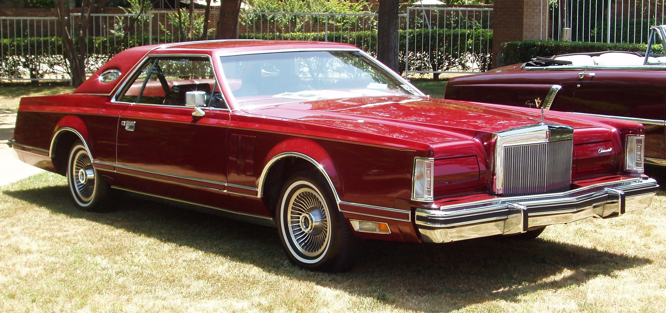 1977 Lincoln Continental Mark V Lincoln Continental American Auto Lincoln
