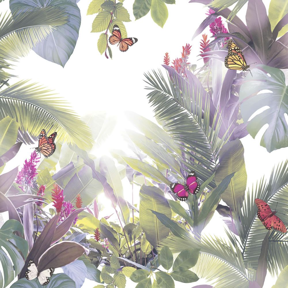 Amazonia Lavender Wallpaper (With images) Floral