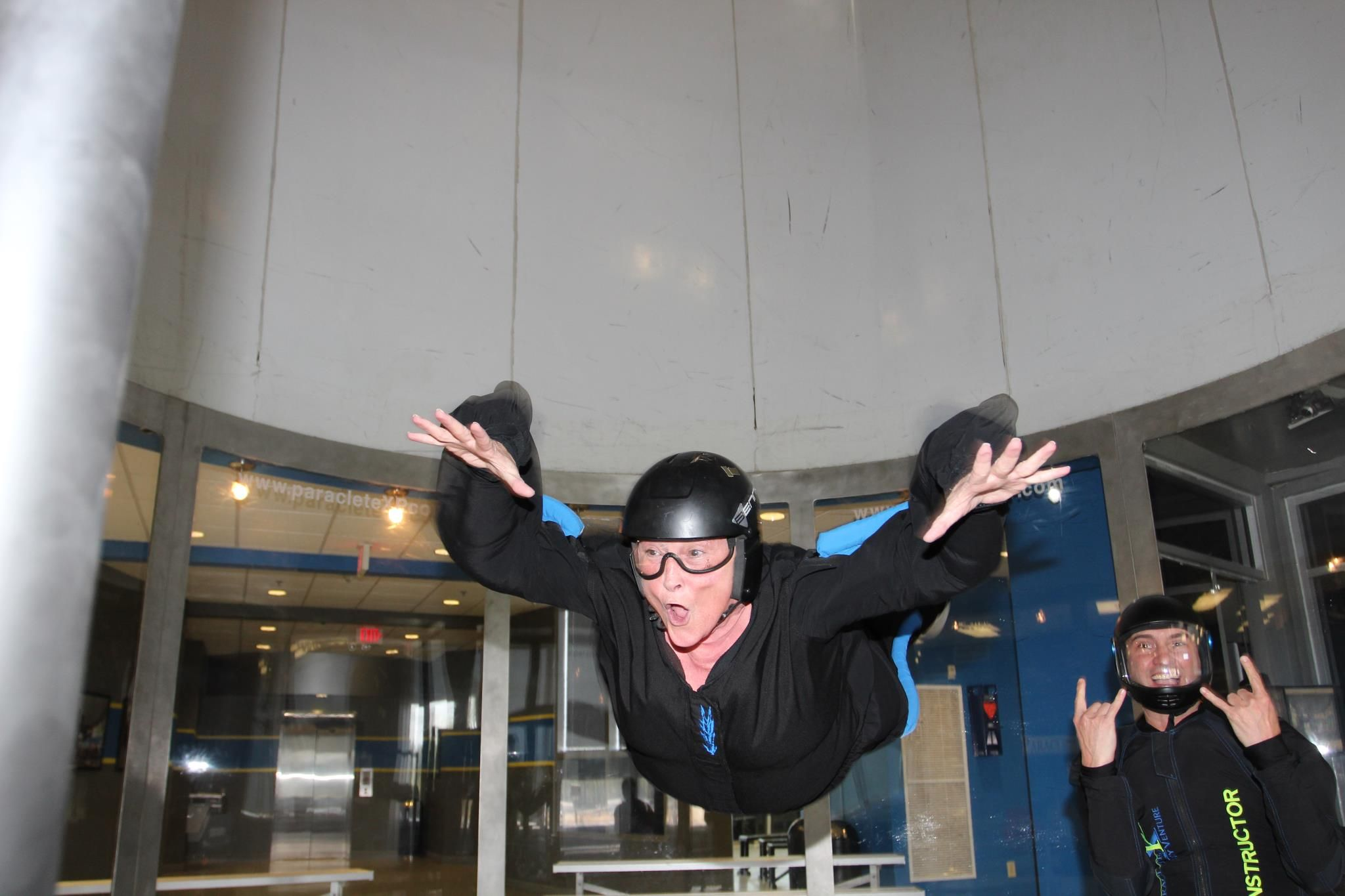 Indoor skydiving paraclete xp fayetteville nc it was so