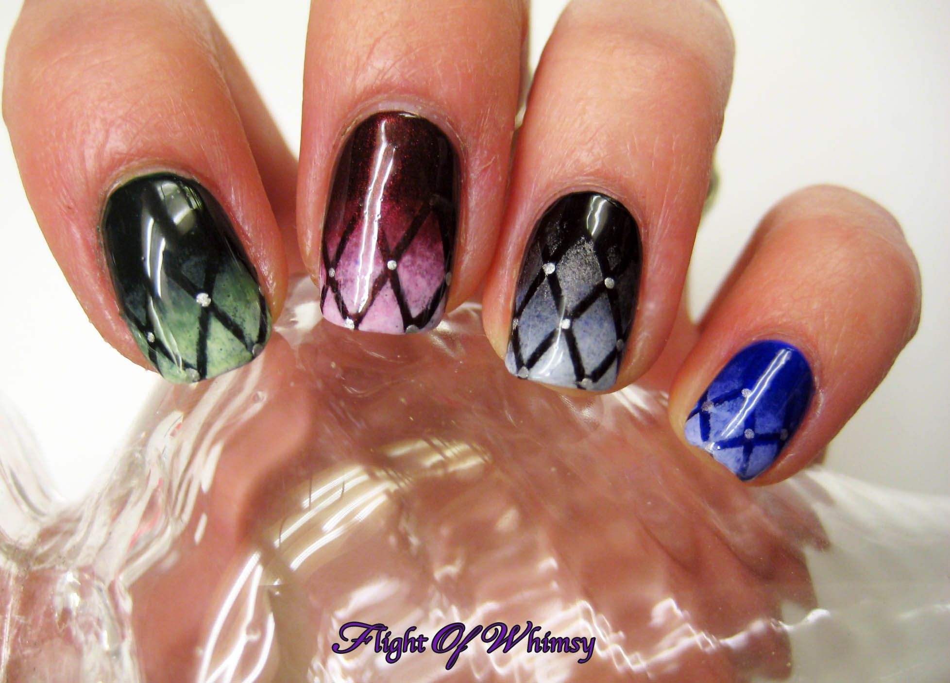 Jeweled Stain Glass | Fashion: Nail Art | Pinterest
