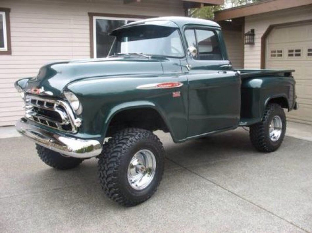 1957 Chevy 4x4 Trucks Pinterest And Cars Truck For Sale