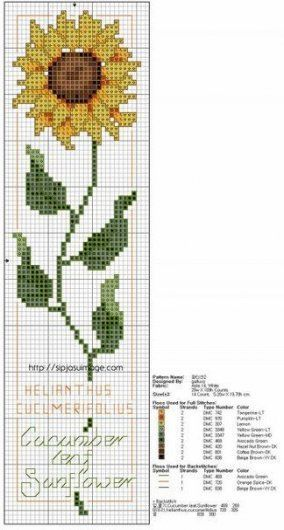 Super Embroidery Sunflower Sunflowers Cross Stitch Ideas  Super Embroidery Sunflower Sunflowers Cross Stitch Ideas