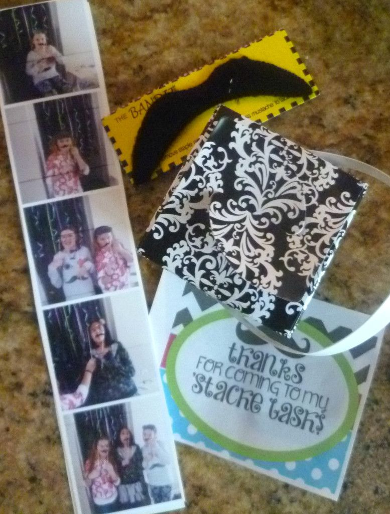 Easy DIY Mustache Party Party Favors www.burntapple.com #mustache #birthdayparty #partyideas