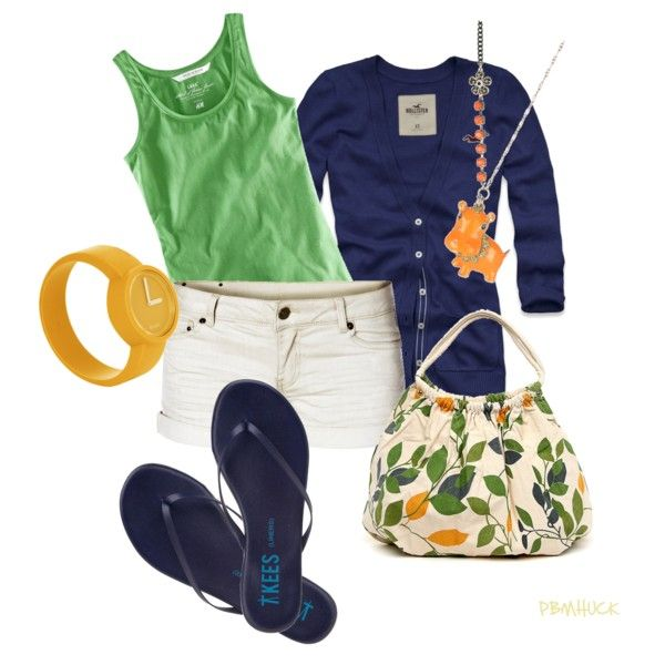 Bright Summer Colors, created by pbmhuck.polyvore.com