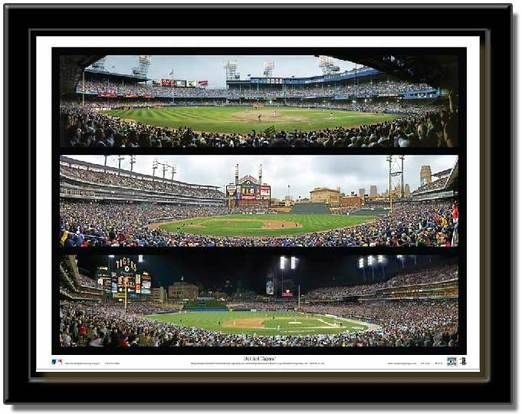 Detroit Tigers Triple Collage Framed Picture Parks The