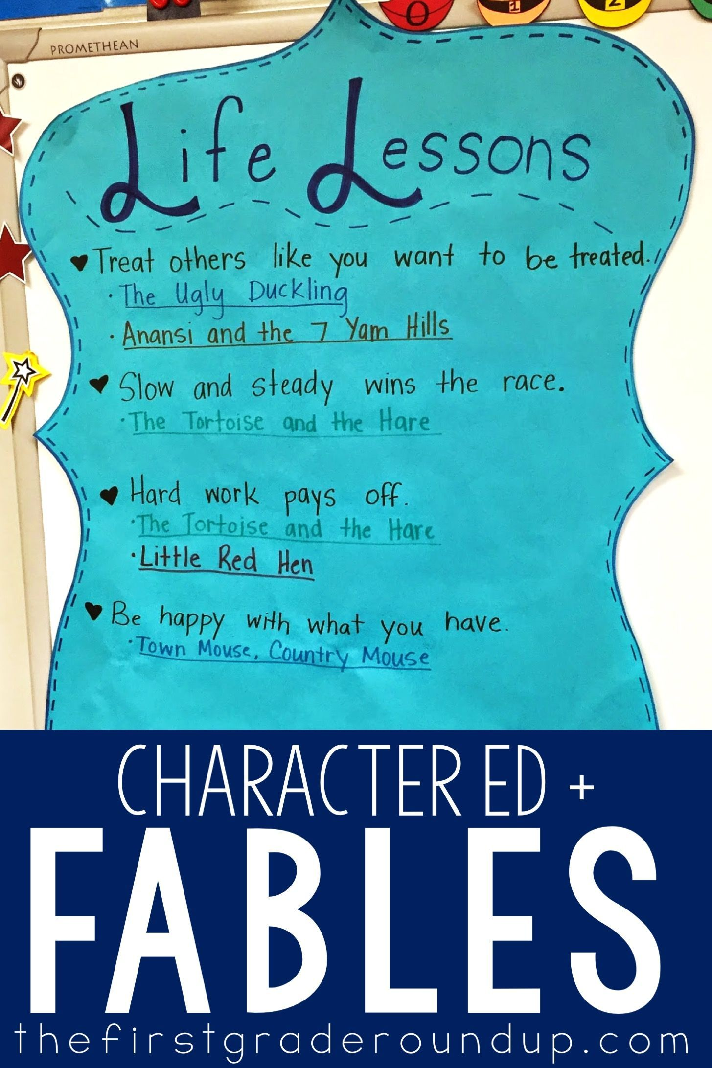 Character Education With Fables In