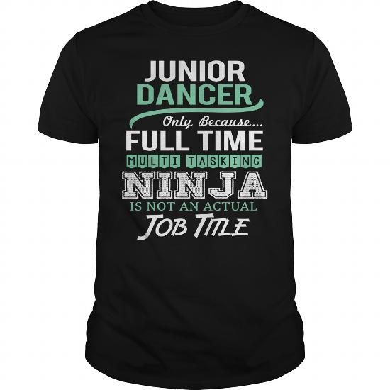 Awesome Tee For Junior Dancer - #university tee #swetshirt sweatshirt. OBTAIN LOWEST PRICE => https://www.sunfrog.com/LifeStyle/Awesome-Tee-For-Junior-Dancer-144662846-Black-Guys.html?68278