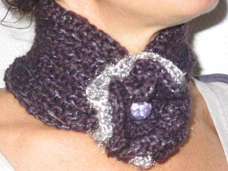 tour de cou - echarpes et foulards - Autour d'Isa, de la laine - Fait Maison
