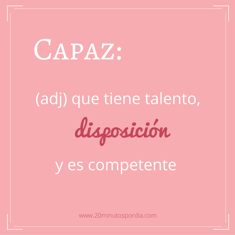 Todos somos capaces!! Solo hay que estar dispuestos! :) #20minutospordia #lunes #motivacion #motivation #monday