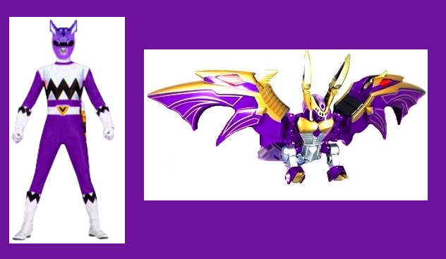 Lost galaxy purple ranger for crystallinemind