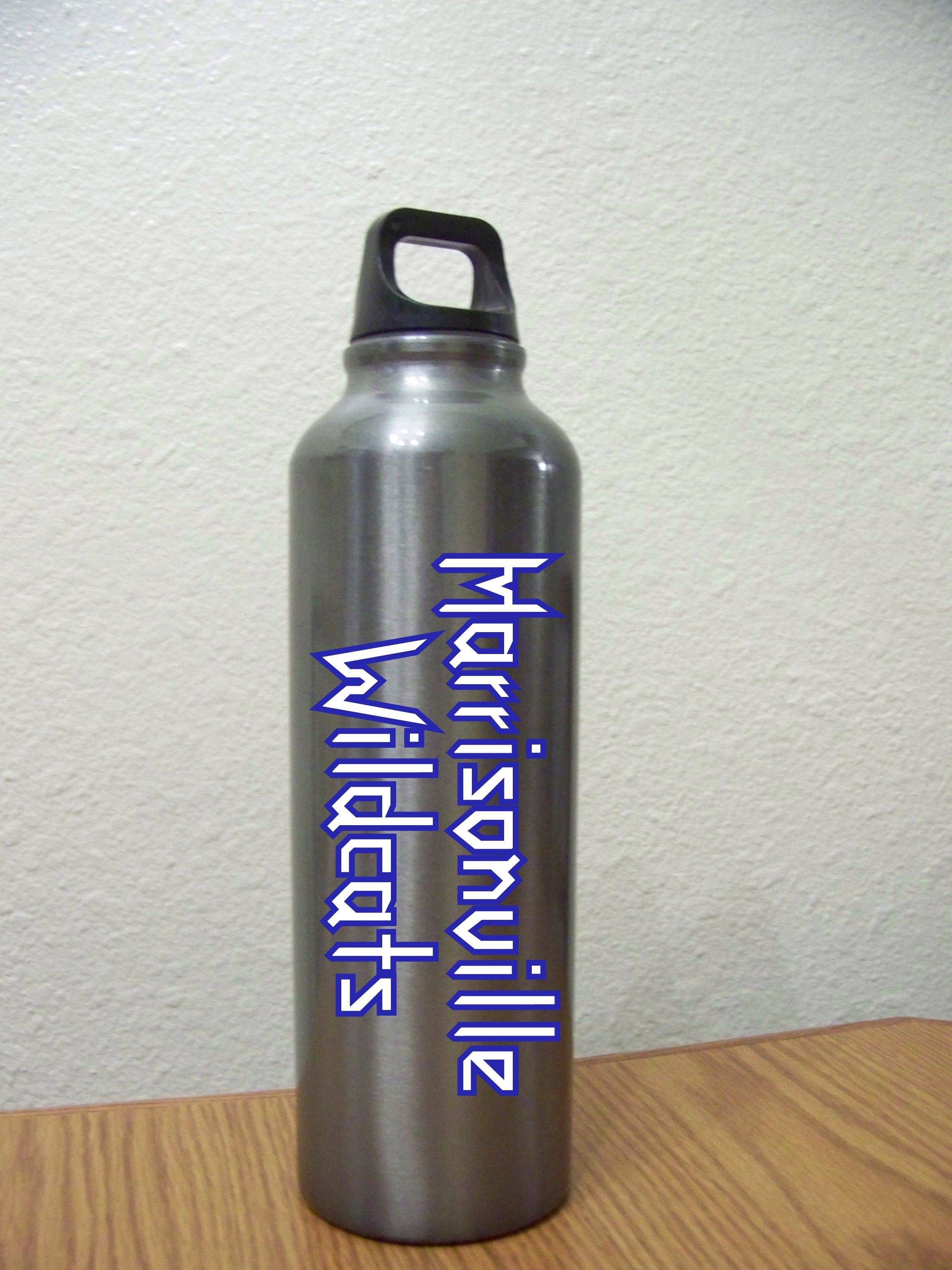 Customized/Personalized reusable water bottle