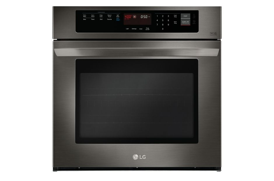 Lg Black Stainless Steel Series Lws3063bd 4 7 Cu Ft Built In Single Wall