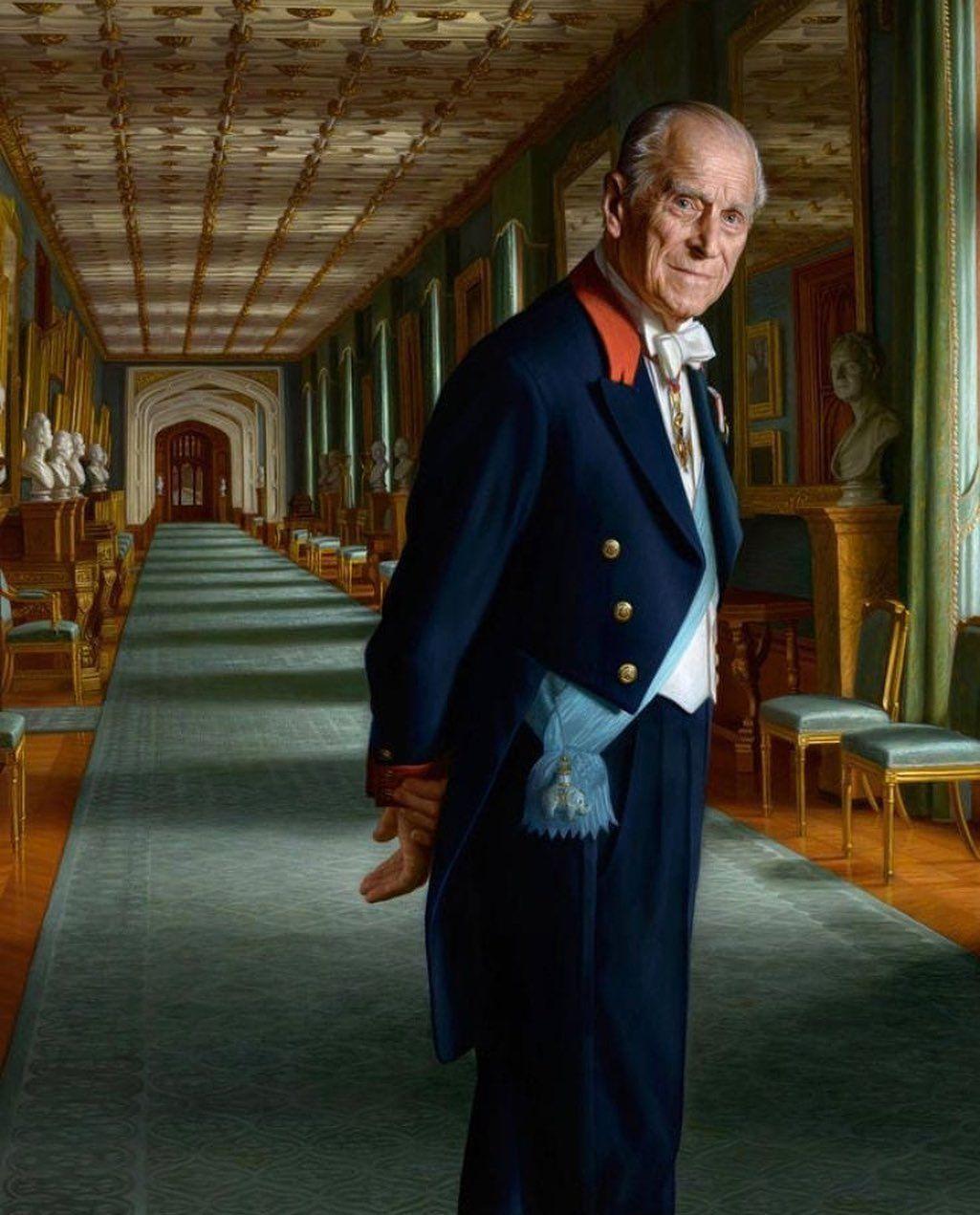 British Royal Monarchy On Instagram Amazing Portrait Of Prince Philip Duke Of Edinburgh Royals Pr Royal Monarchy British Monarchy History Prince Philip