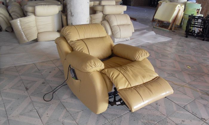Fabulous Luxury Top Grain Genuine Cattle Leather Electric Recliner Beatyapartments Chair Design Images Beatyapartmentscom