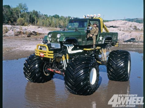 Monster Jeep  4-Wheel & Off-Road Magazine