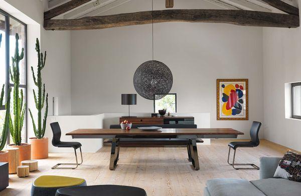 Tisch aus Massivholz nox in Nussbaum von TEAM 7 Küche Pinterest