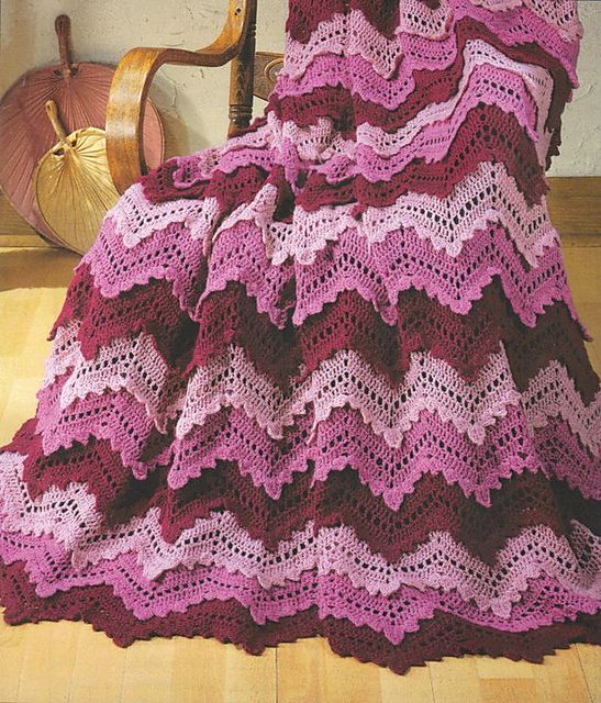 Ravelry: Reflections Afghan Kit pattern by Herrschners   Crochet ...