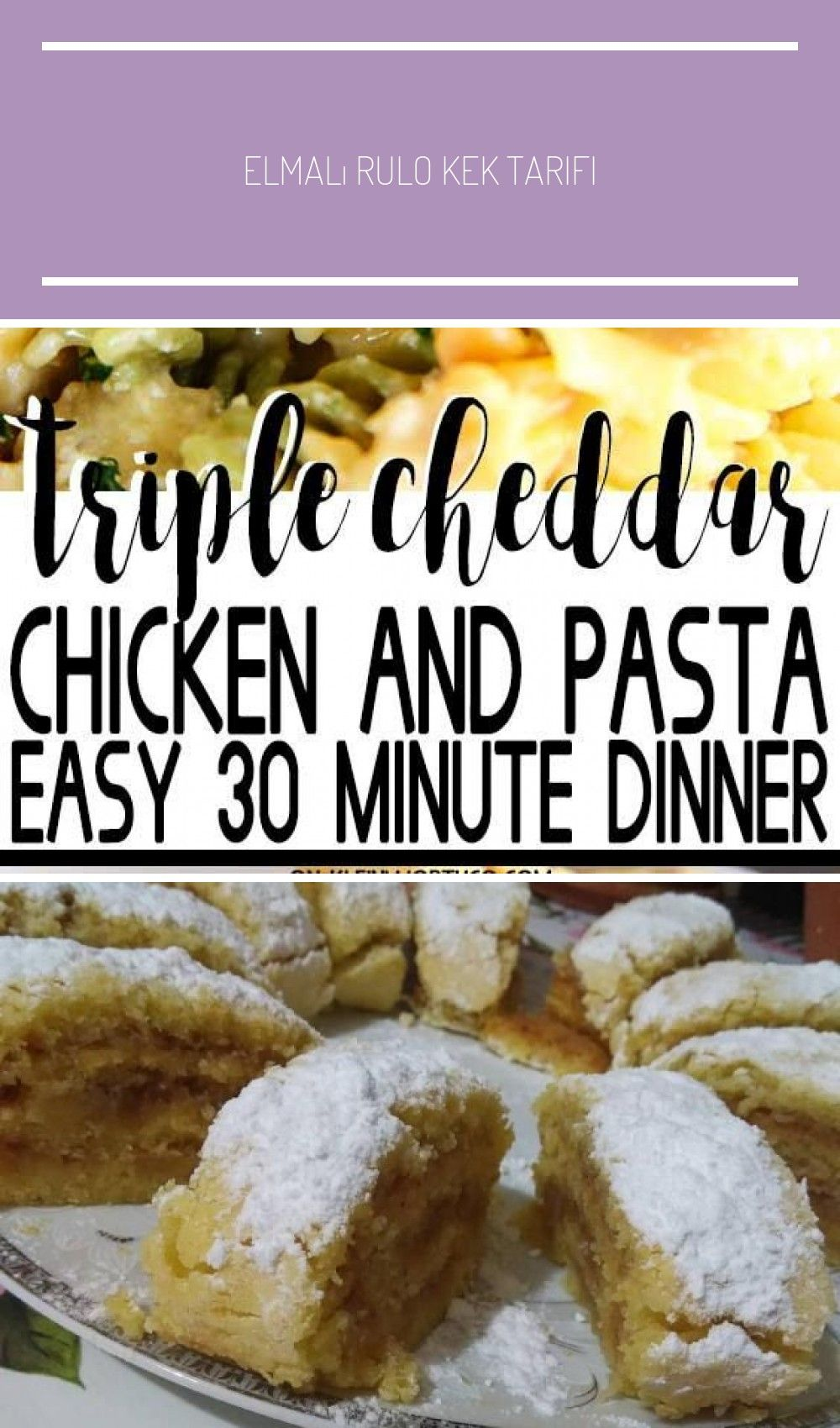 Loaded with chicken, seasonings & a deliciously cheesy sauce, this Triple Cheddar Chicken and Pasta