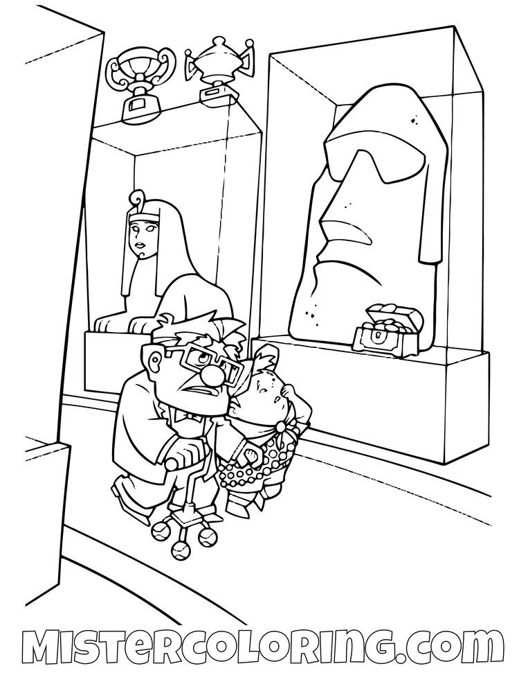 Up Coloring Pages For Kids Mister Coloring Coloring Pages For Kids Coloring Pages Disney Pixar Up