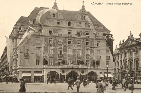BAUWELT Der geplante Neubau des Hotel Königshof in