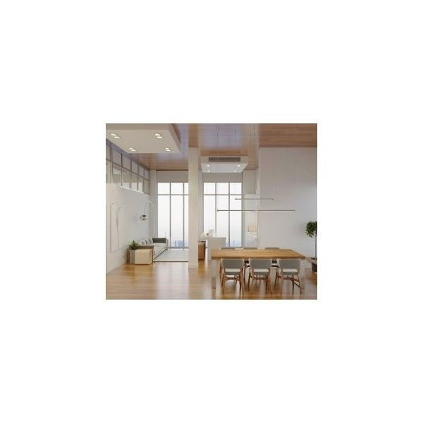 High rise apartment with stunning minimalist interior ❤ liked on polyvore featuring photo