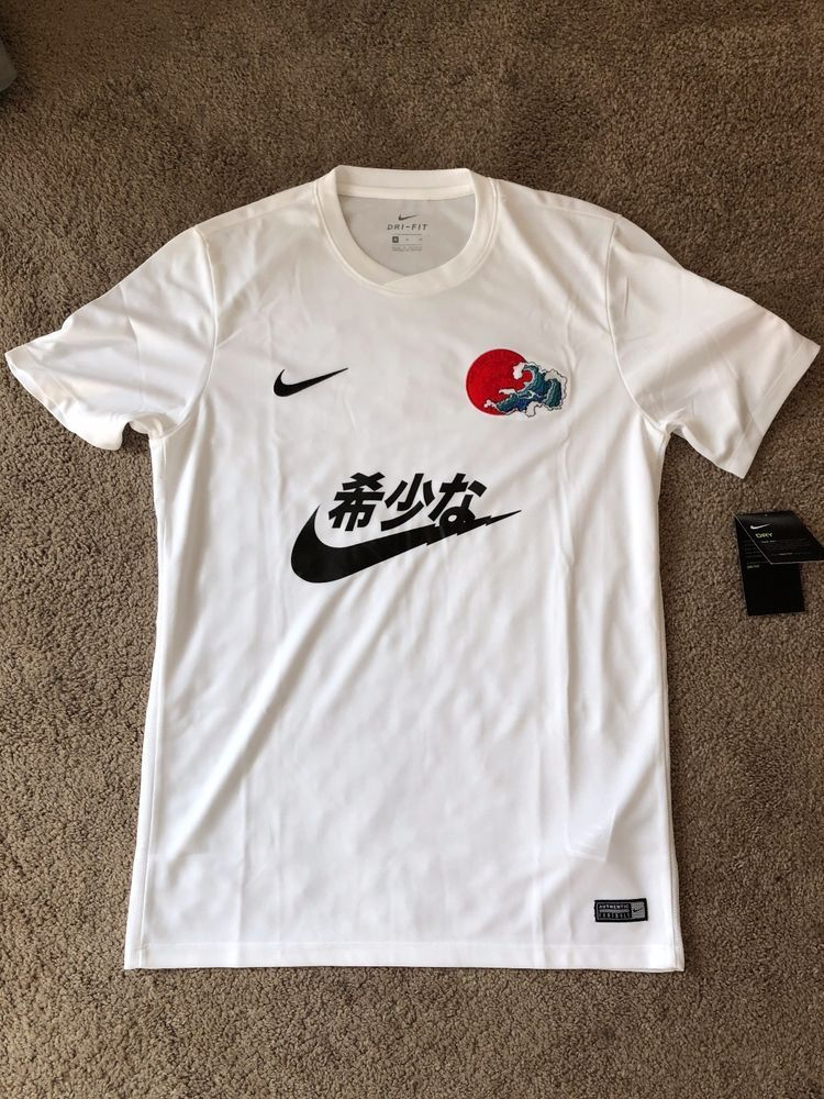 ca3306b29 Nike Kanji Jersey with Japan Flag Patch by The Concept Club Rare V1 ...