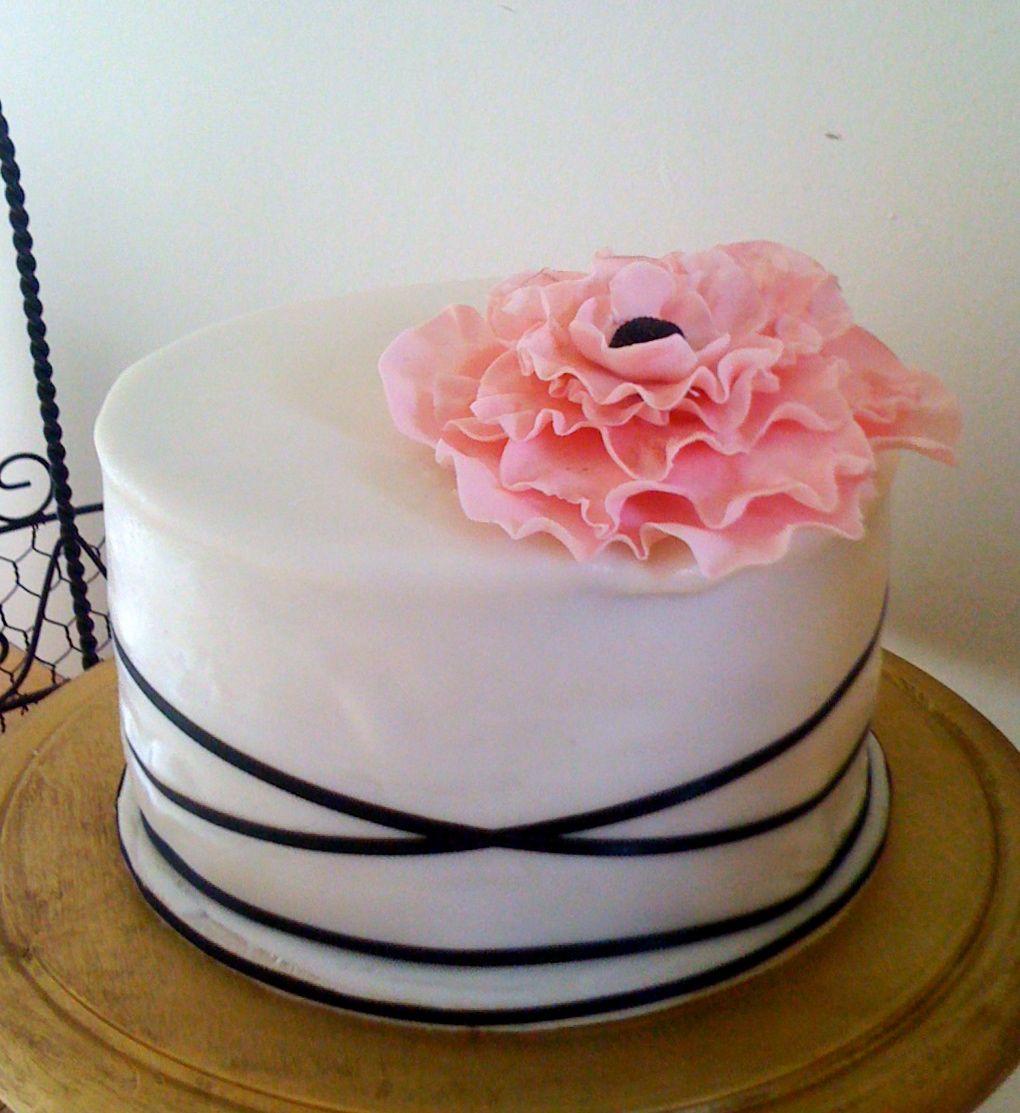 Birthday cake for little sister simple designsingle