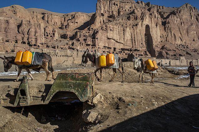 Vale de Bamiyan, Afeganistão
