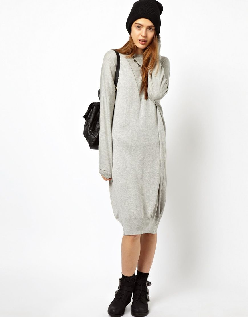 2388d35fe86 ASOS Oversized Jumper Dress