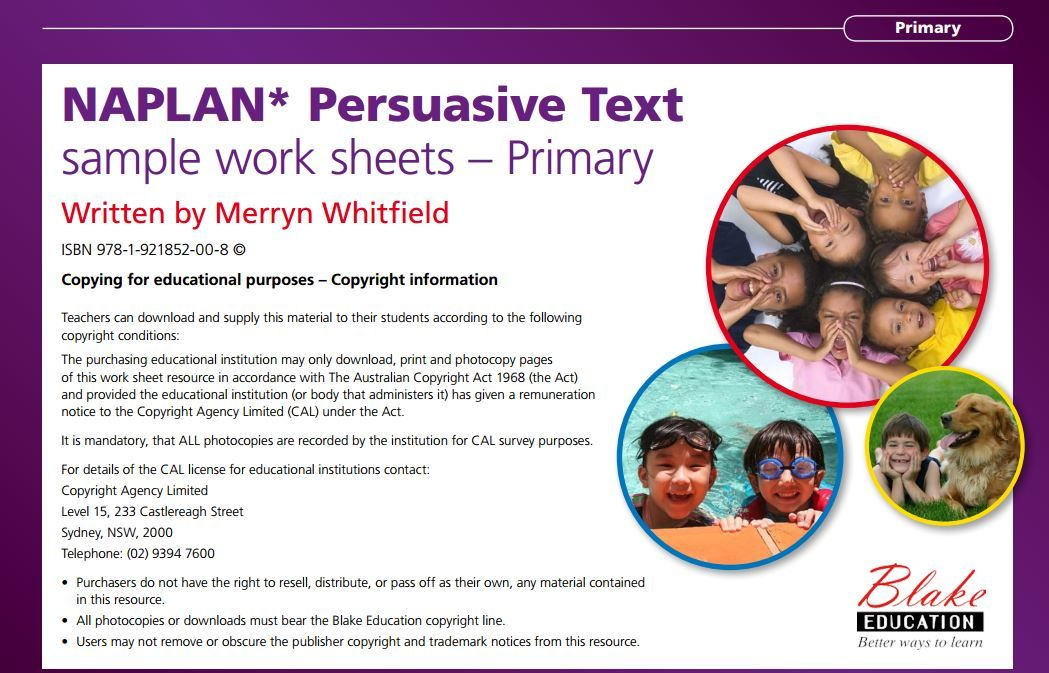 naplan persuasive writing resources Resources to help prepare for naplan writing persuasive examples lots of resources for persuasive writing.