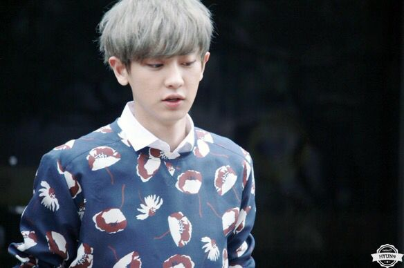Chanyeol   150403 After KBS Music Bank Recording