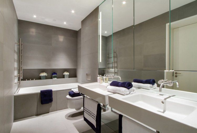 carrelage salle de bains et 7 tendances à suivre en 2015 ... - Carrelage Tendance Salle De Bain